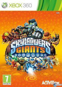 Portada oficial de Skylanders Giants para Xbox 360