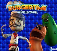 Portada oficial de BurgerTime: World Tour WiiW para Wii