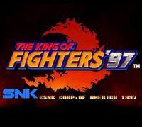 Portada oficial de The King of Fighters '97 CV para Wii