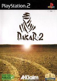 Portada oficial de Dakar 2 para PS2
