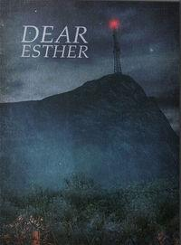 Portada oficial de Dear Esther para PC