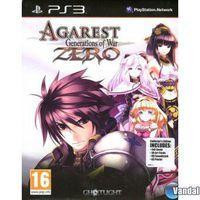 Portada oficial de Agarest Generations of War Zero para PS3