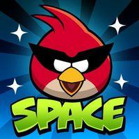Portada oficial de Angry Birds Space para iPhone