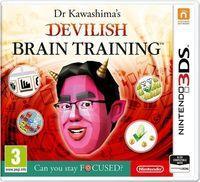 Portada oficial de Brain Training Infernal del Dr. Kawashima para Nintendo 3DS