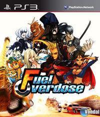 Portada oficial de Fuel Overdose para PS3
