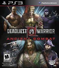 Portada oficial de Deadliest Warrior: Ancient Combat para PS3