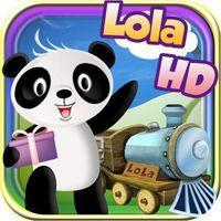 Portada oficial de Lola's Alphabet Train DSiW para NDS