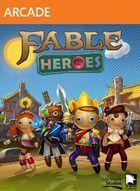 Portada oficial de de Fable Heroes XBLA para Xbox 360