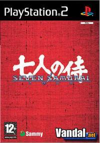 Portada oficial de Seven Samurai 20XX para PS2
