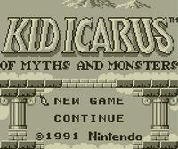 Portada oficial de Kid Icarus of Myths and Monsters CV para Nintendo 3DS