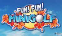 Portada oficial de Fun! Fun! Minigolf Touch! eShop para Nintendo 3DS