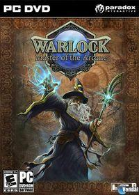 Portada oficial de Warlock: Master of the Arcane para PC