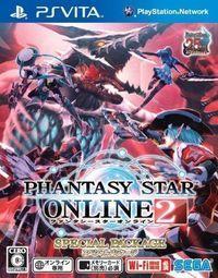 Portada oficial de Phantasy Star Online 2 para PSVITA