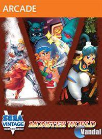 Portada oficial de Sega Vintage Collection: Monster World XBLA para Xbox 360