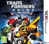 Portada oficial de Transformers Prime para Nintendo 3DS