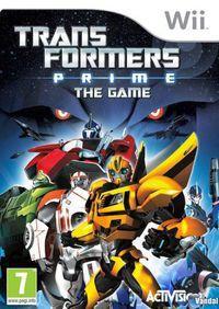 Portada oficial de Transformers Prime para Wii