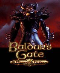 Portada oficial de Baldur's Gate: Enhanced Edition para PC