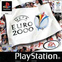 Portada oficial de Euro 2000 para PS One