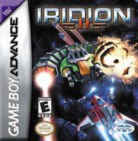 Portada oficial de Iridion 3D 2 para Game Boy Advance