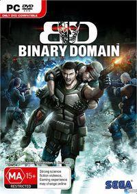 Portada oficial de Binary Domain para PC