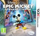 Portada oficial de de Epic Mickey: Mundo misterioso para Nintendo 3DS