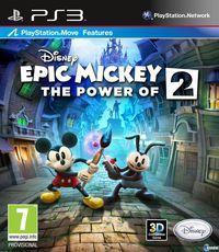 Portada oficial de Epic Mickey 2: El retorno de dos héroes para PS3