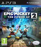 Portada oficial de de Epic Mickey 2: El retorno de dos héroes para PS3