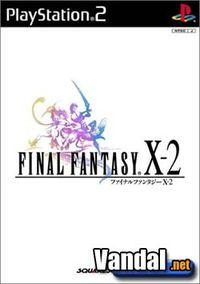 Portada oficial de Final Fantasy X-2 para PS2