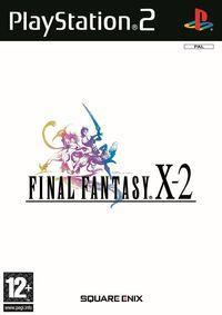 Portada oficial de Final Fantasy X-2 para PS2