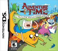 Portada oficial de Adventure Time: Hey Ice King! Why'd you steal our garbage?! para NDS