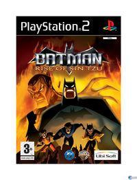 Portada oficial de Batman: Rise of Sin Tzu para PS2