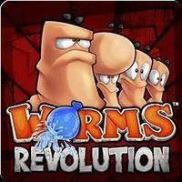 Portada oficial de Worms Revolution PSN para PS3