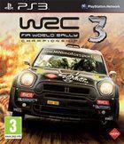 Portada oficial de de WRC 3 para PS3