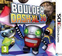 Portada oficial de Boulder Dash XL 3D para Nintendo 3DS
