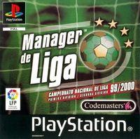 Portada oficial de Manager de Liga para PS One