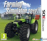 Portada oficial de Farming Simulator 2012 3D para Nintendo 3DS