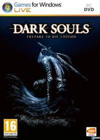 Portada oficial de Dark Souls: Prepare to Die Edition para PC