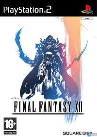 Portada oficial de Final Fantasy XII para PS2