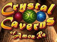 Portada oficial de Crystal Caverns of Amon-Ra DSiW para NDS