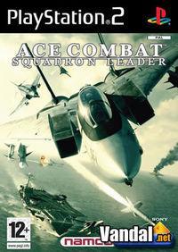 Portada oficial de Ace Combat: Jefe de Escuadrón para PS2