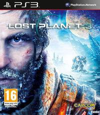 Portada oficial de Lost Planet 3 para PS3