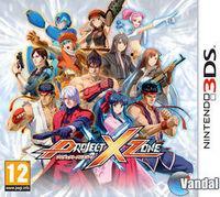 Portada oficial de Project X Zone para Nintendo 3DS