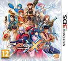 Portada oficial de de Project X Zone para Nintendo 3DS
