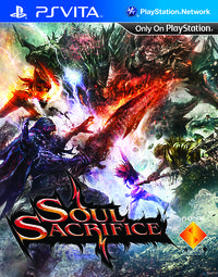 Portada oficial de Soul Sacrifice para PSVITA