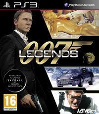 Portada oficial de 007 Legends para PS3