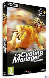 Portada oficial de Pro Cycling Manager 2012 para PC