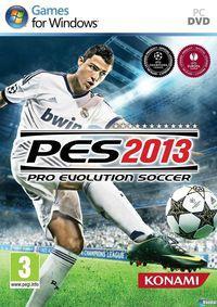 Portada oficial de Pro Evolution Soccer 2013 para PC