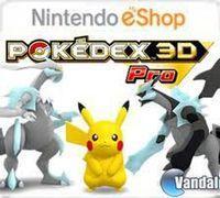 Portada oficial de Pokédex 3D Pro eShop para Nintendo 3DS