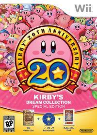 Portada oficial de Kirby's Dream Collection para Wii