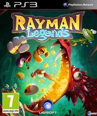 Portada oficial de Rayman Legends para PS3